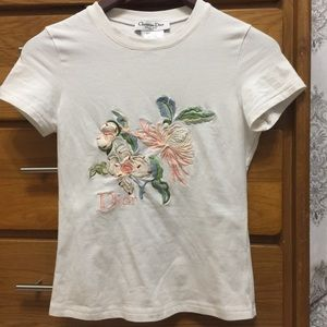 Dior embroidered top